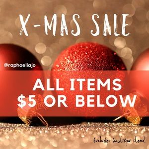 🎄🎁Merry Christmas🎁🎄 Everything 5$ or below!